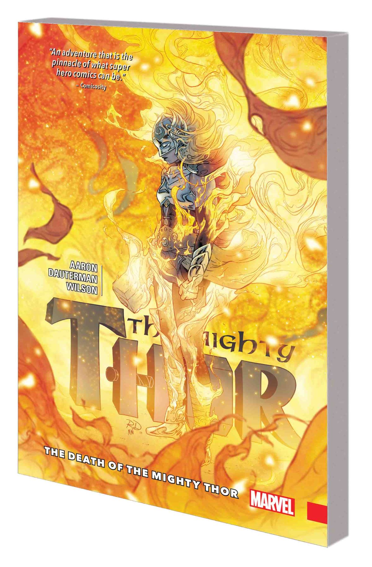 MIGHTY THOR VOL. 5: THE DEATH OF THE MIGHTY THOR TPB