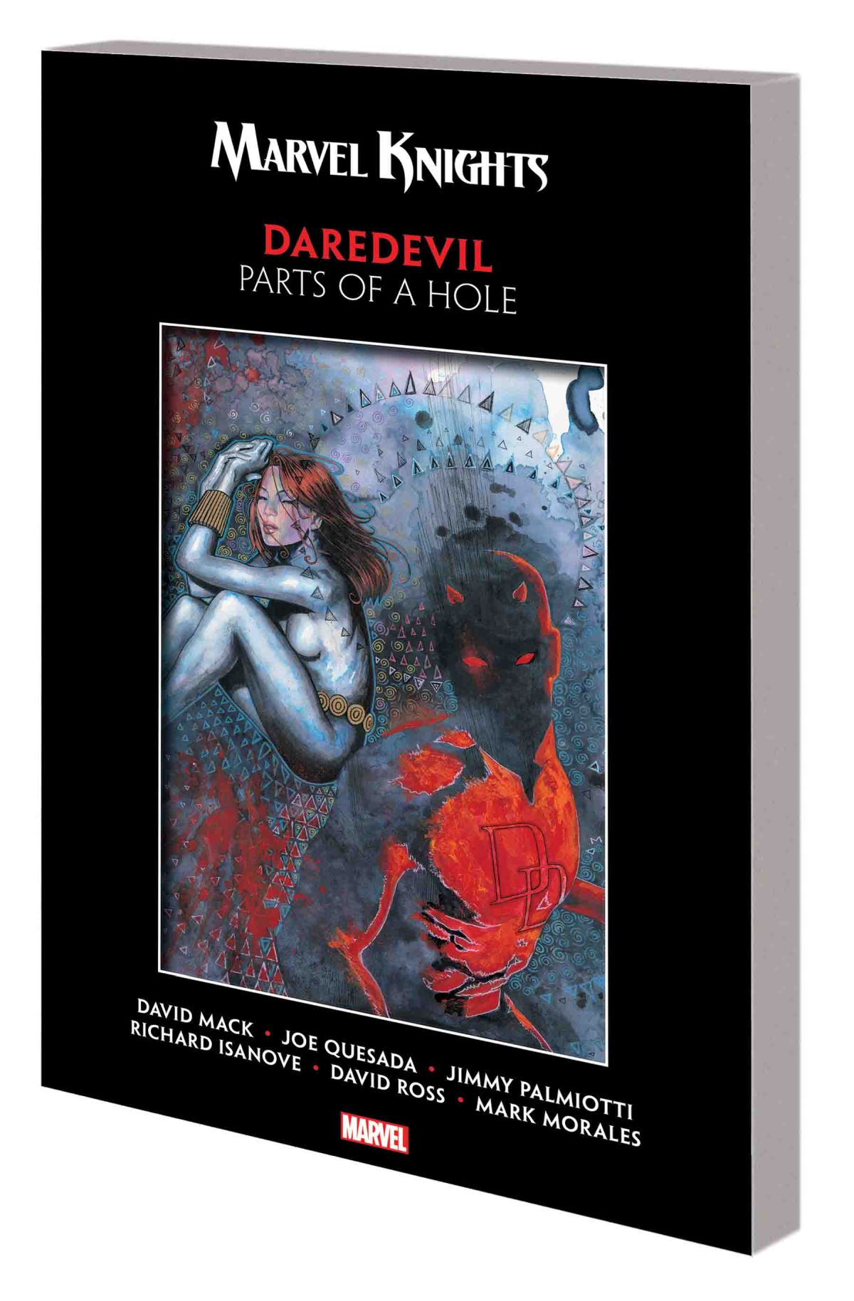 MARVEL KNIGHTS DAREDEVIL BY MACK & QUESADA: PARTS OF A HOLE TPB