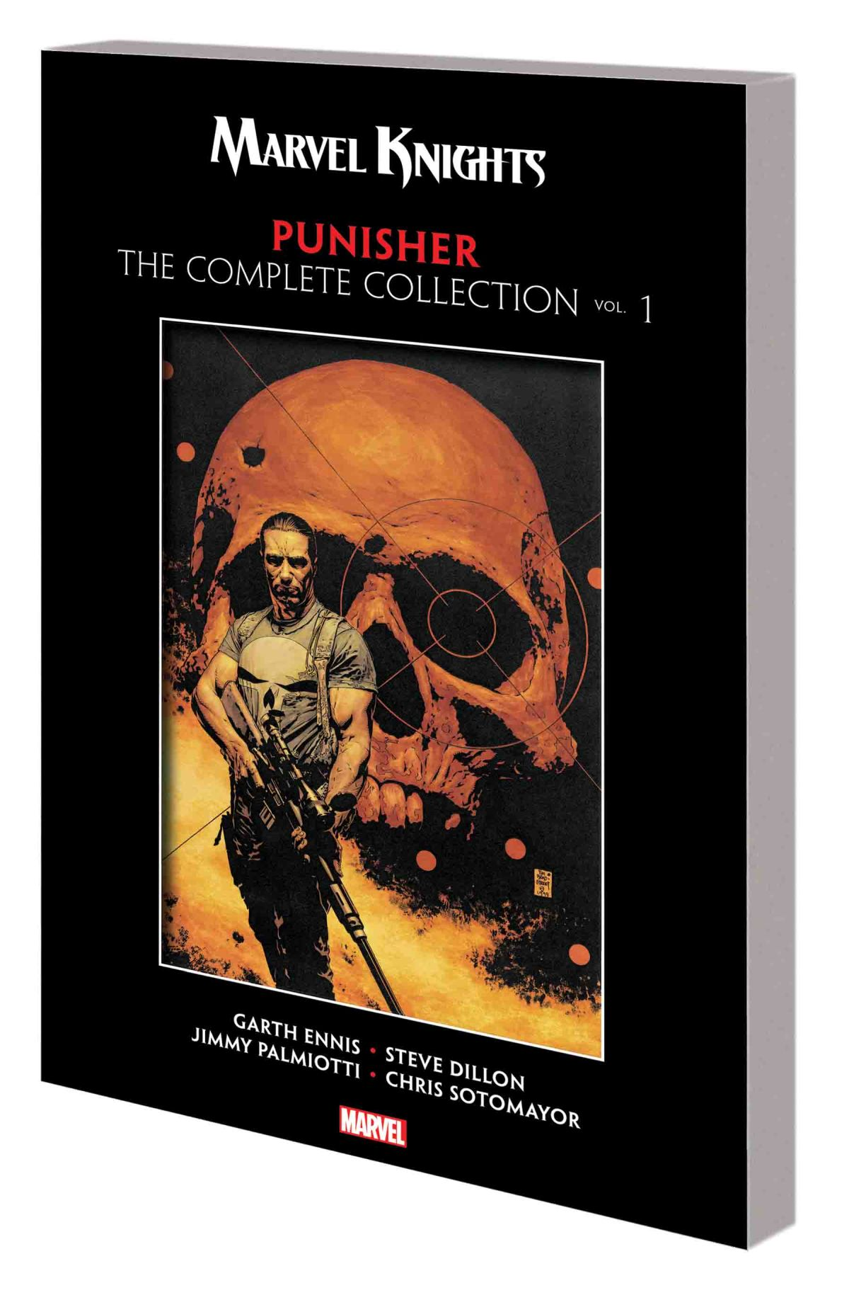 MARVEL KNIGHTS PUNISHER BY GARTH ENNIS: THE COMPLETE COLLECTION VOL. 1 TPB