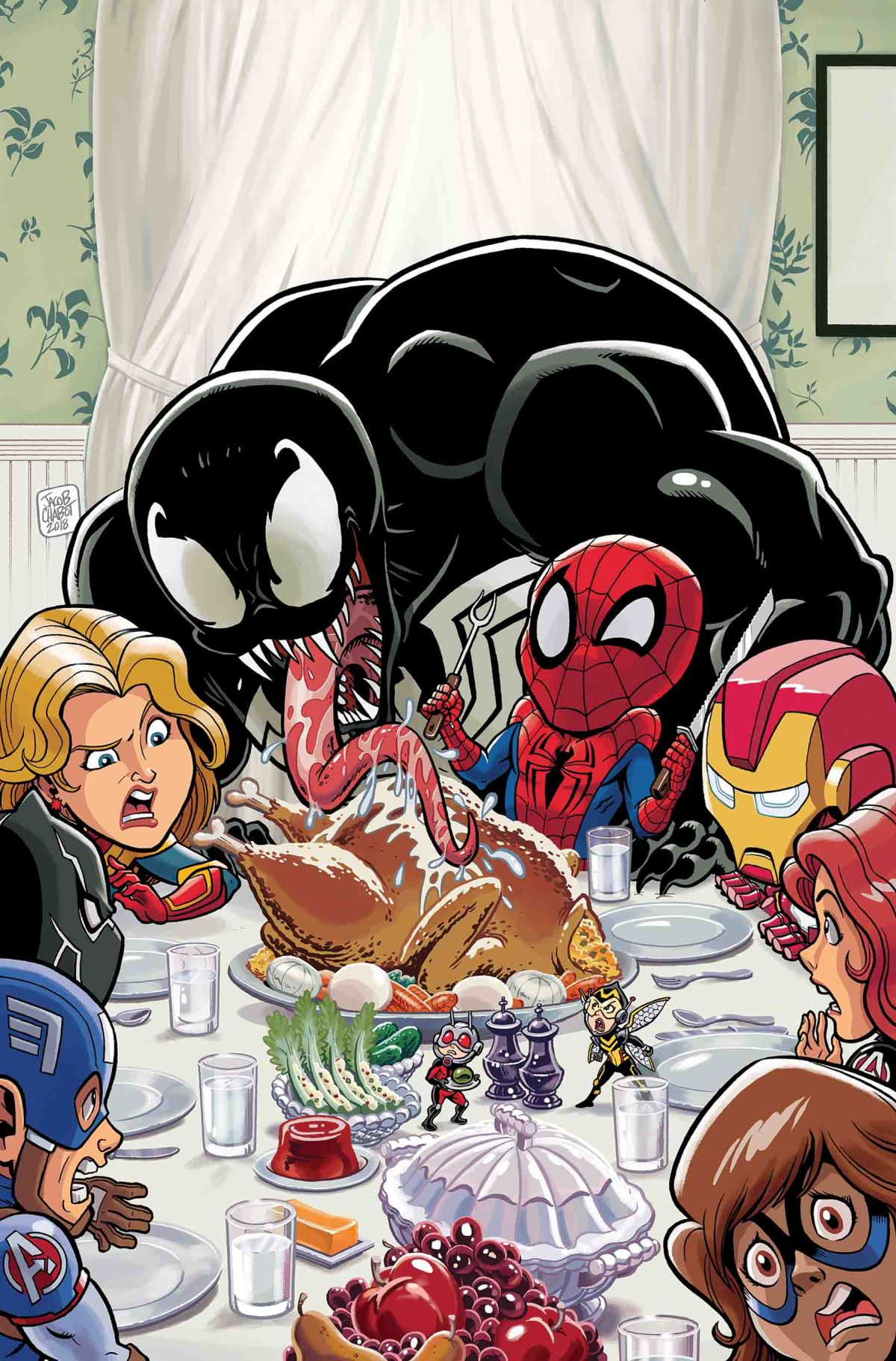 MARVEL SUPER HERO ADVENTURES: CAPTAIN MARVEL – MEALTIME MAYHEM #1