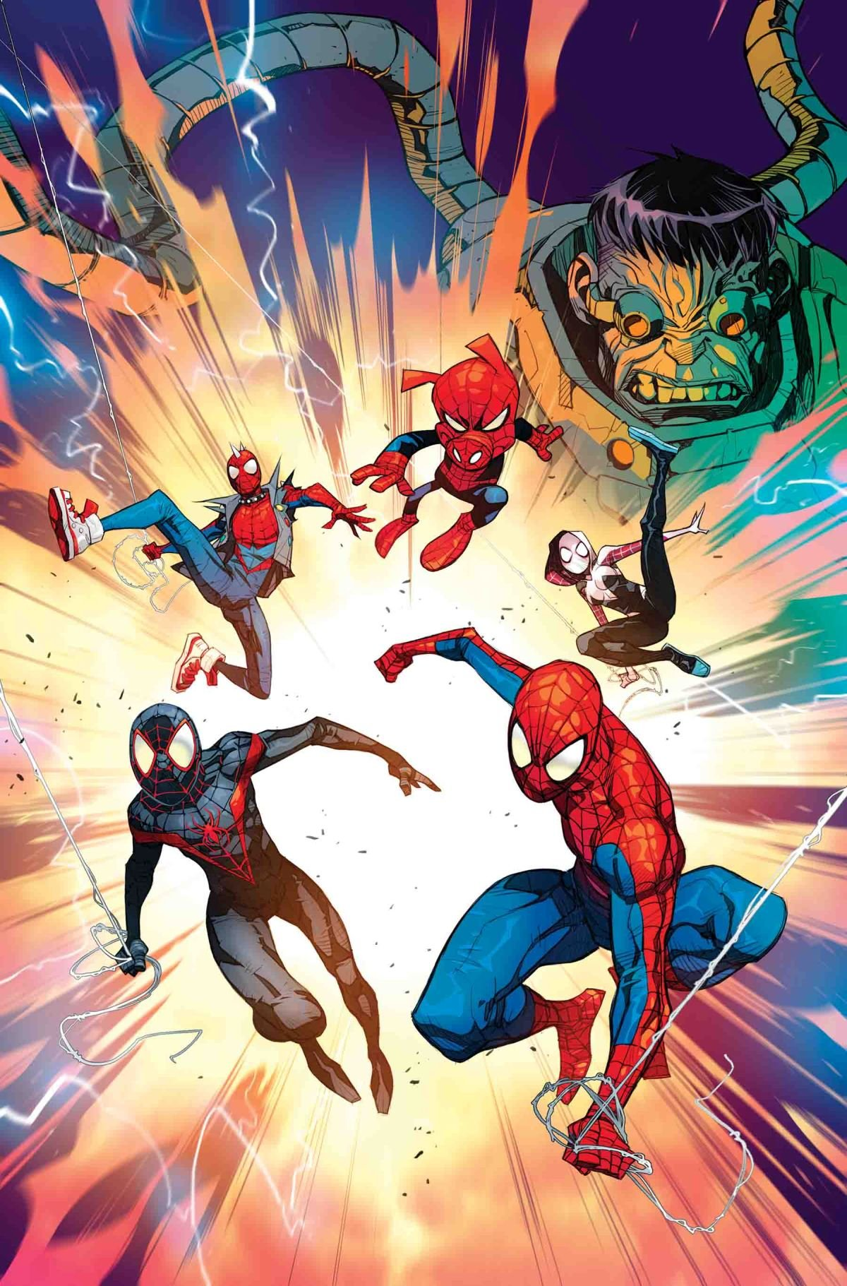 SPIDER-MAN: ENTER THE SPIDER-VERSE #1