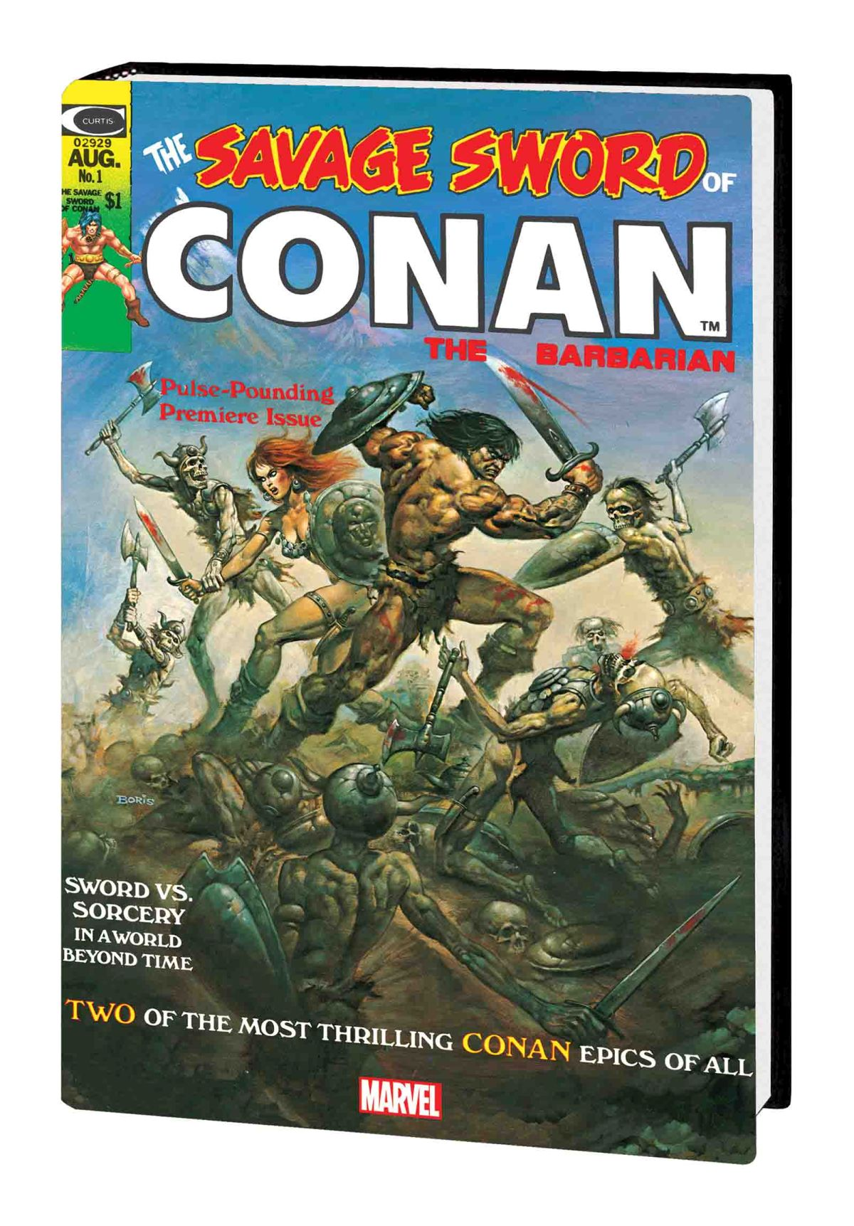 SAVAGE SWORD OF CONAN: THE ORIGINAL MARVEL YEARS OMNIBUS VOL. 1 HC (Variant)