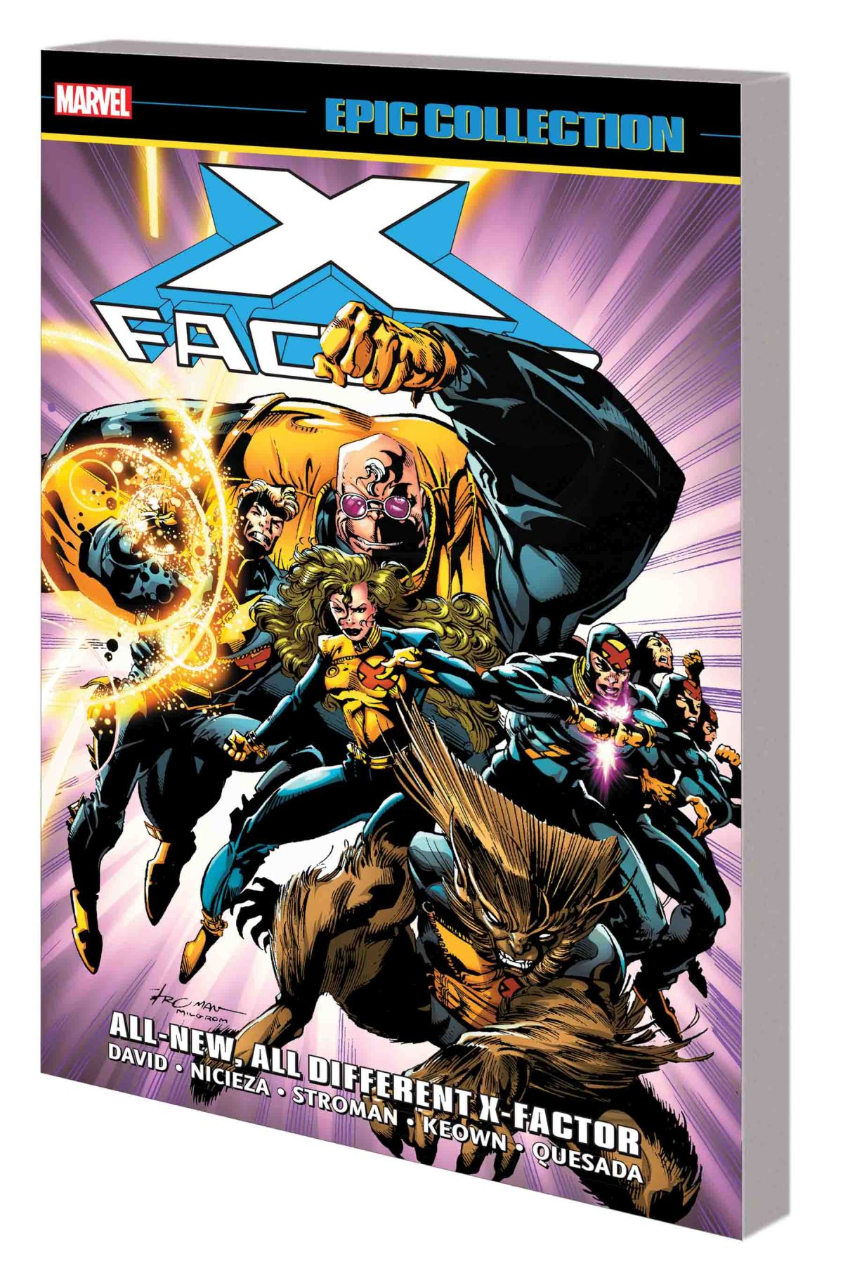 X-FACTOR EPIC COLLECTION: ALL-NEW, ALL-DIFFERENT X-FACTOR TPB