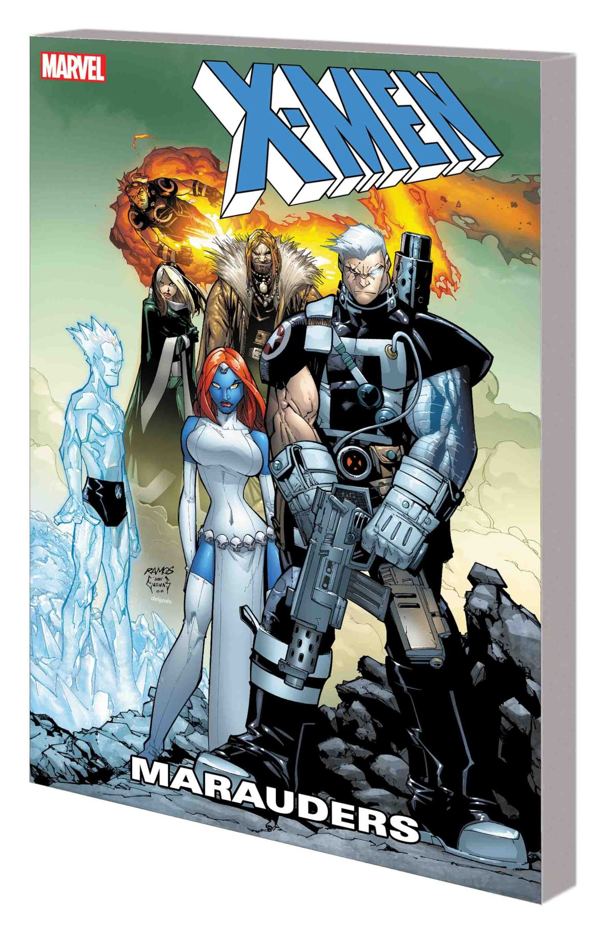 X-MEN: MARAUDERS TPB
