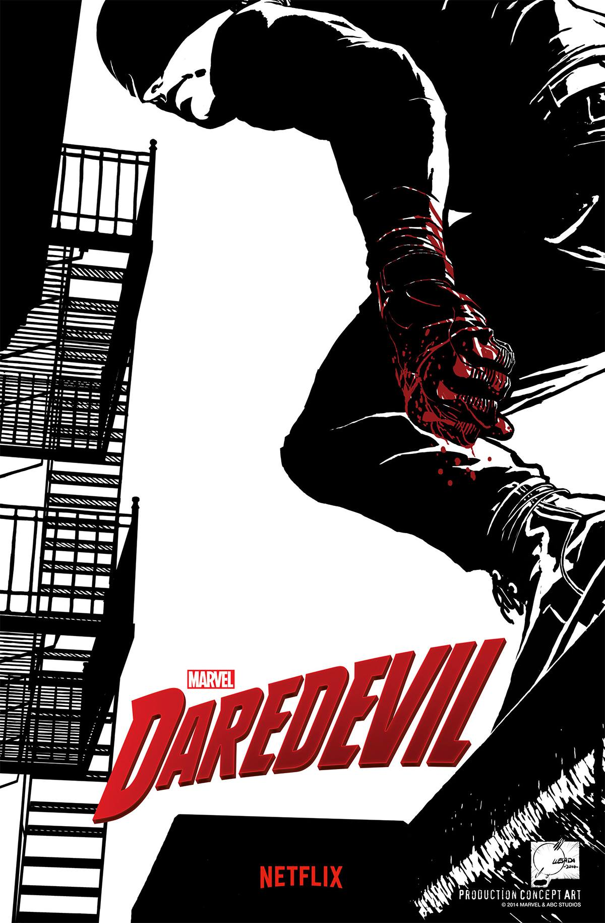Marvel's Daredevil Concept Art
