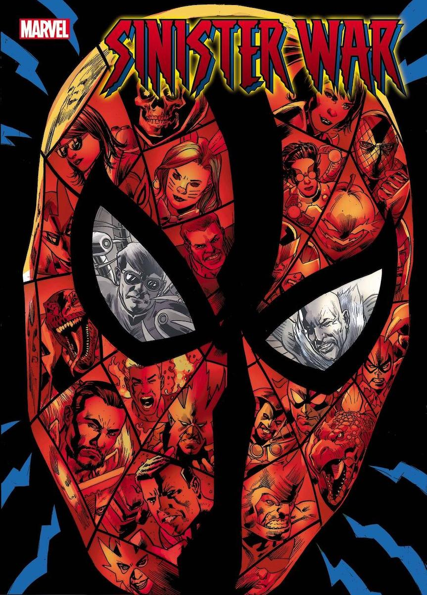 Sinister War #1 Main Cover by Bryan Hitch