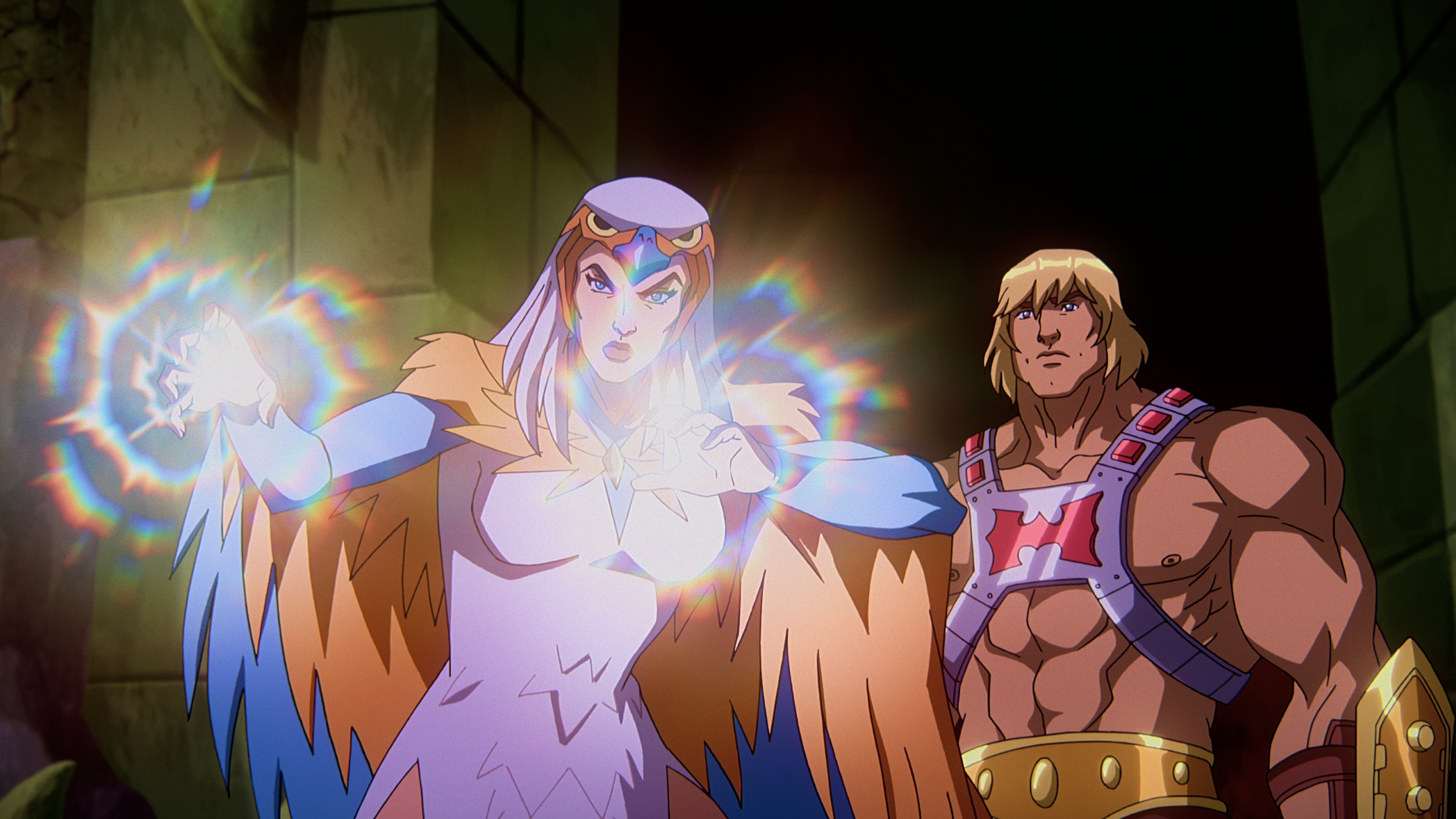 Sorceress and He-Man
