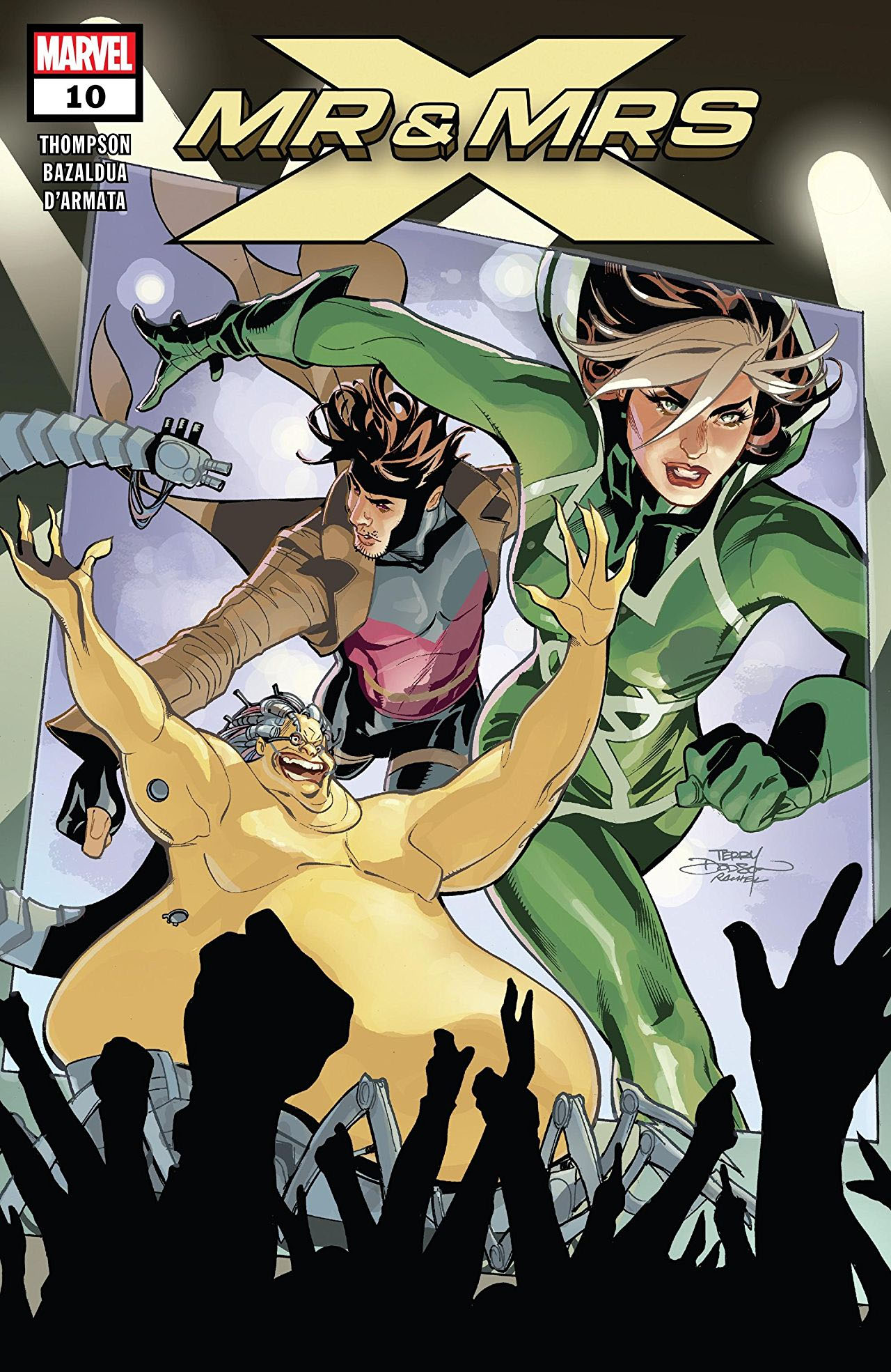 Mr. and Mrs. X #10 cover