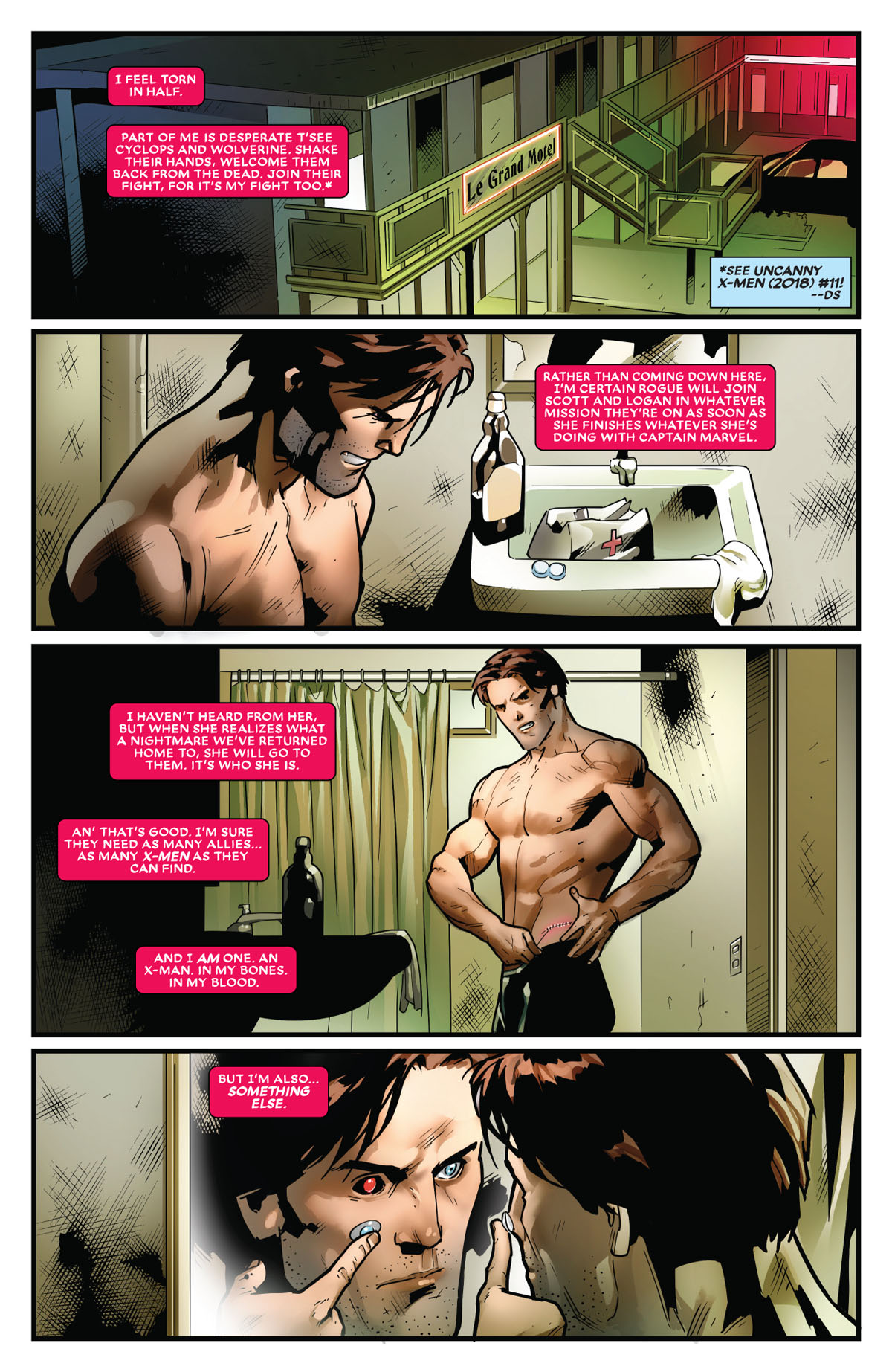 Mr. and Mrs. X #11 page 2