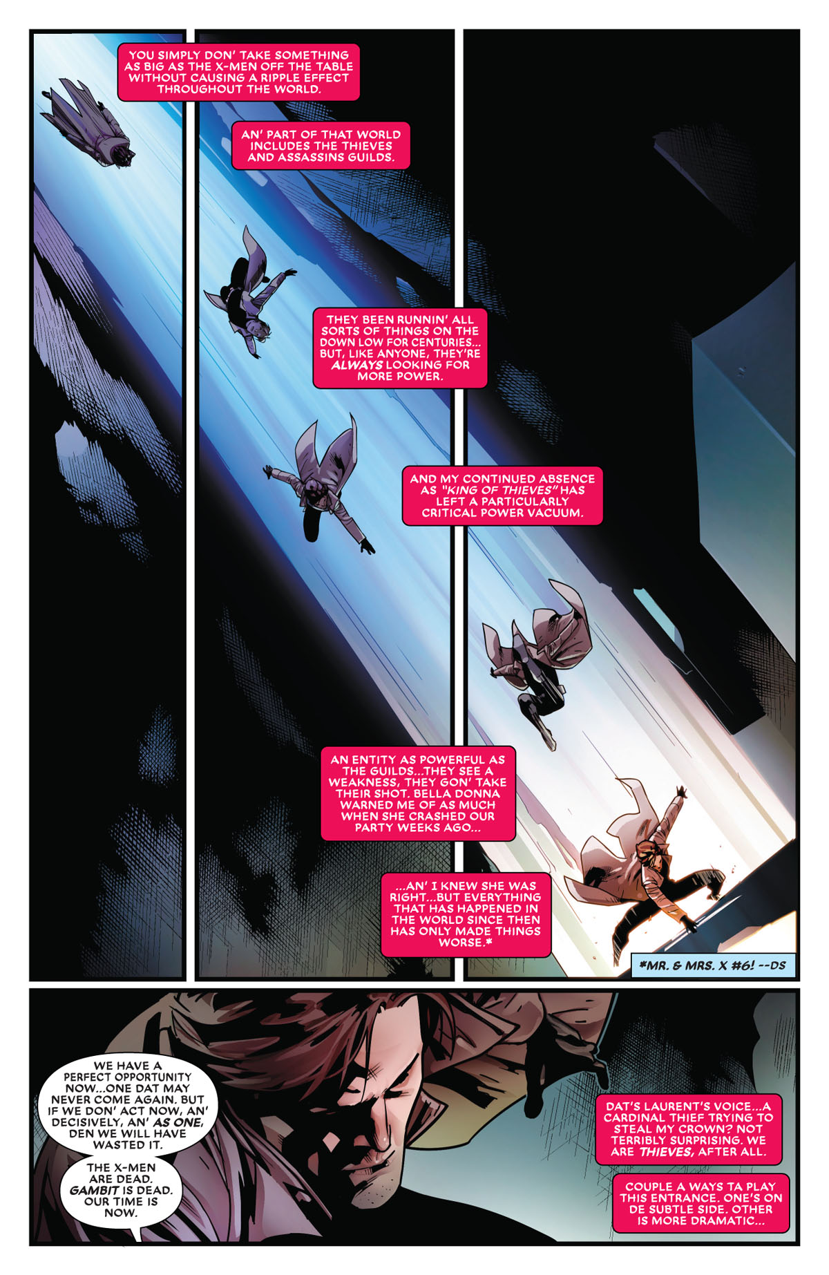 Mr. and Mrs. X #11 page 4