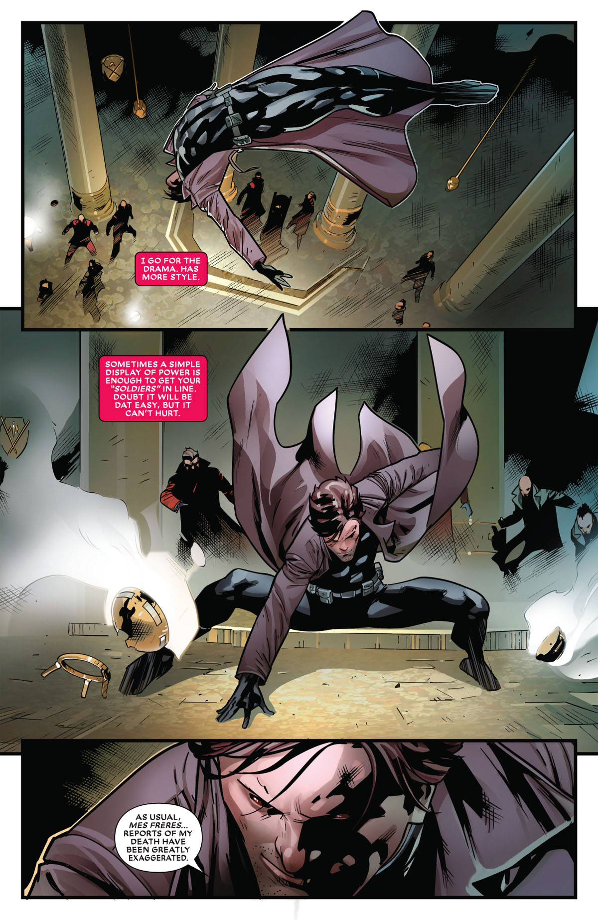 Mr. and Mrs. X #11 page 5