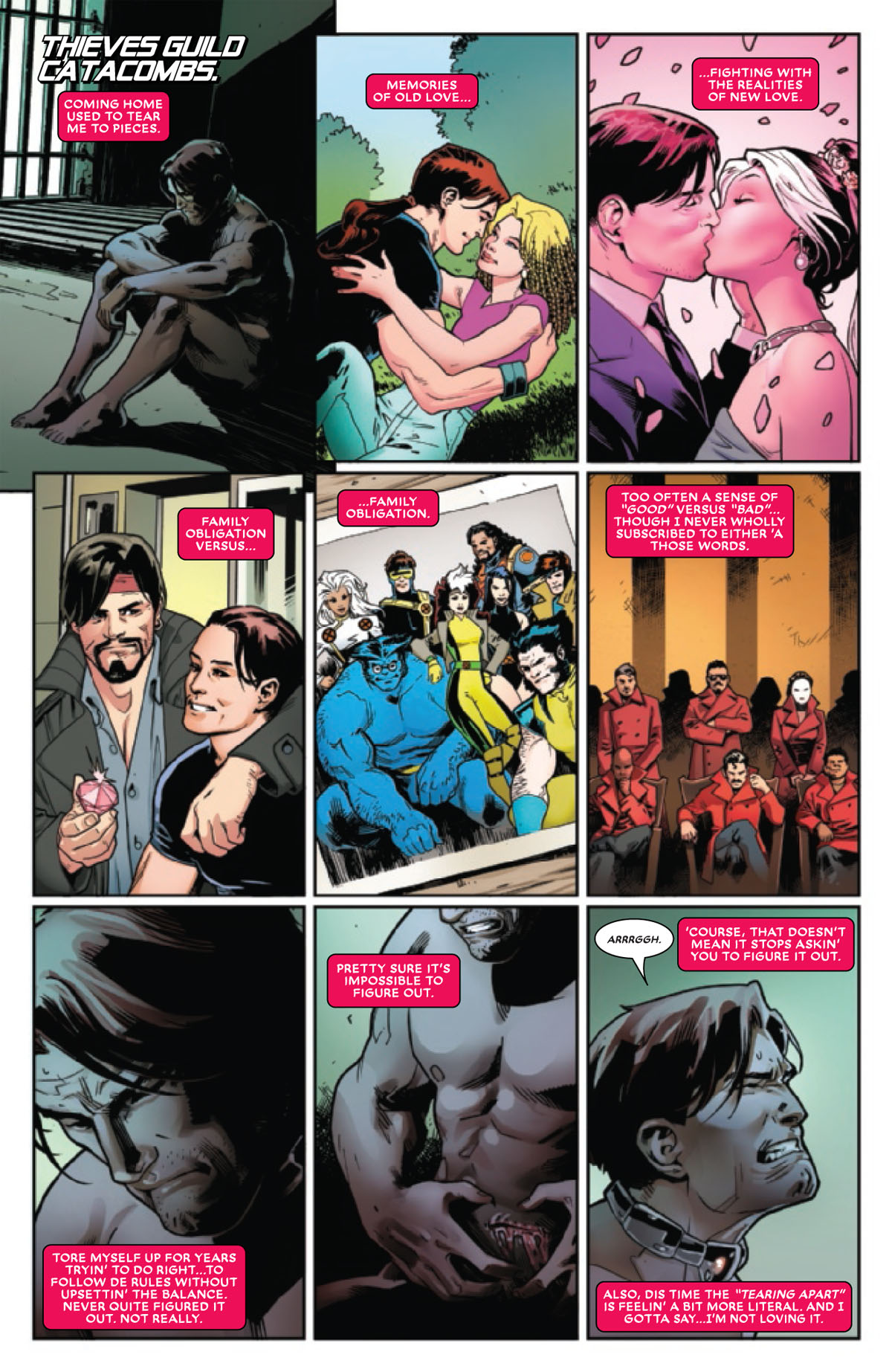 Mr. and Mrs. X #12 page 1