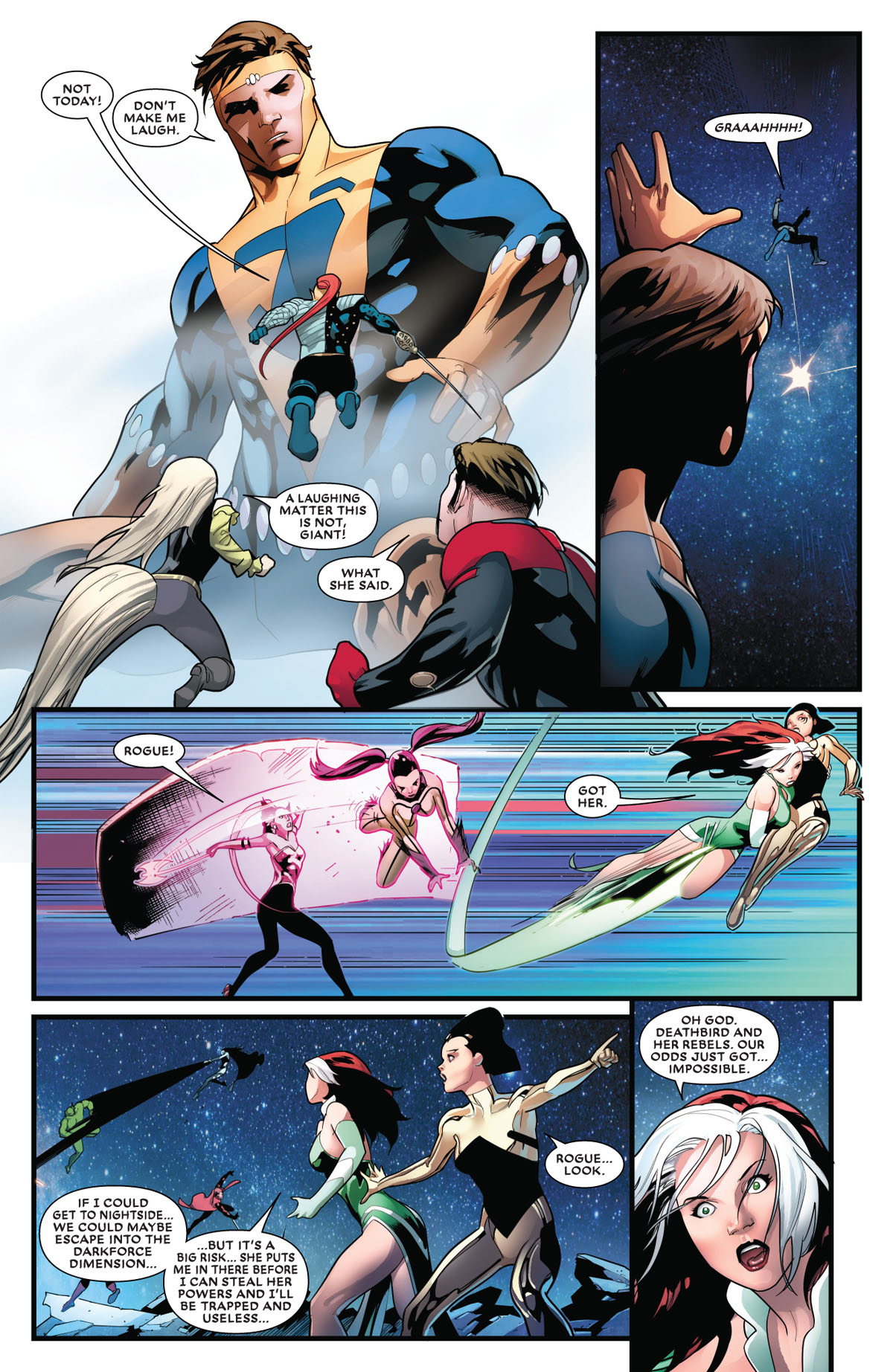 Mr. and Mrs. X #5 page 5