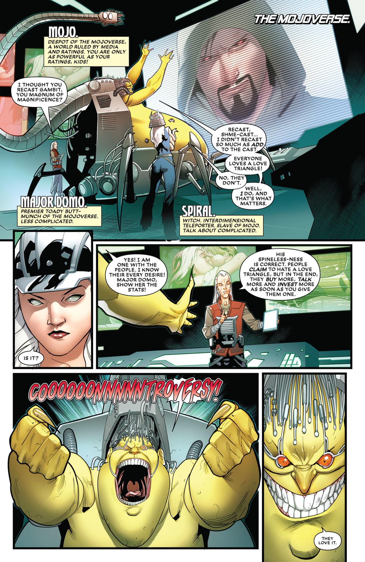 Mr. and Mrs. X #8 page 2