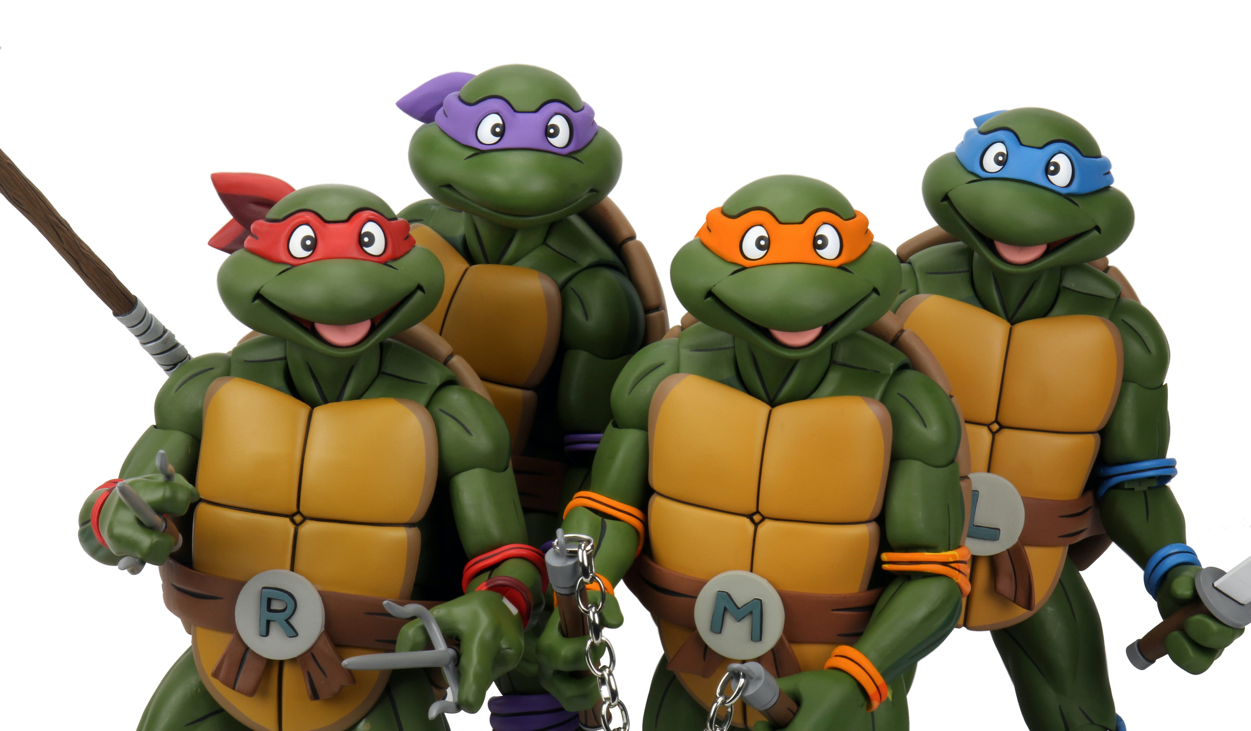 NECA's Comic-Con@Home Teenage Mutant Ninja Turtles Toy Reveals