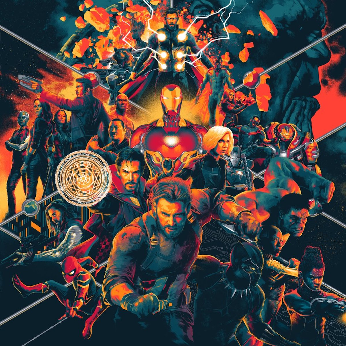 Avengers: Infinity War Soundtrack Cover