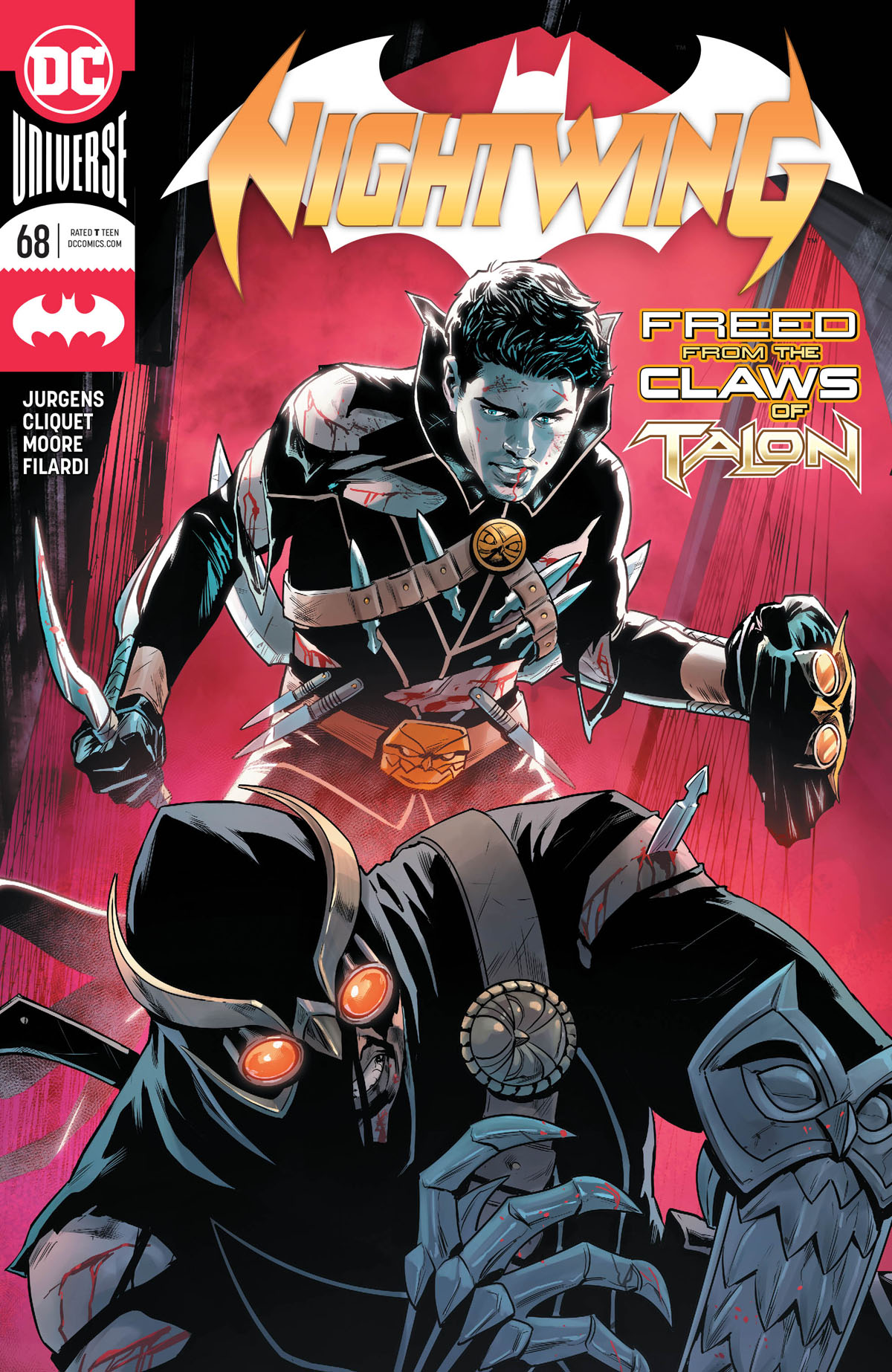 Nightwing #68 cover