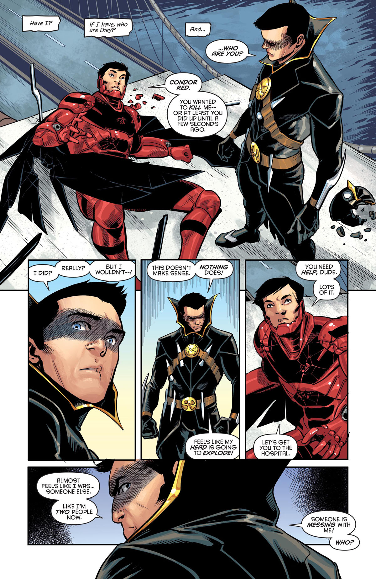 Nightwing #68 page 5