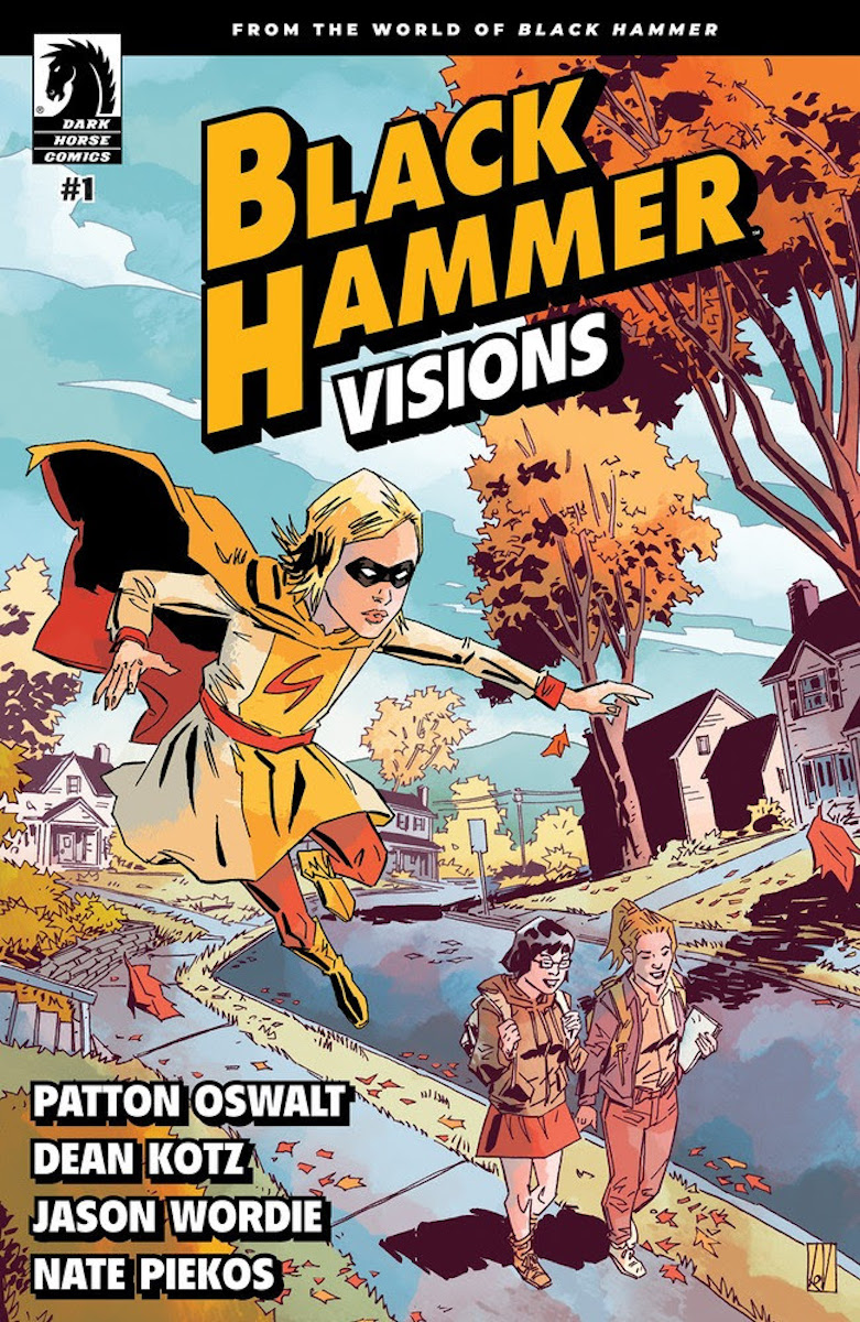 Black Hammer: Visions #1 Cover 1