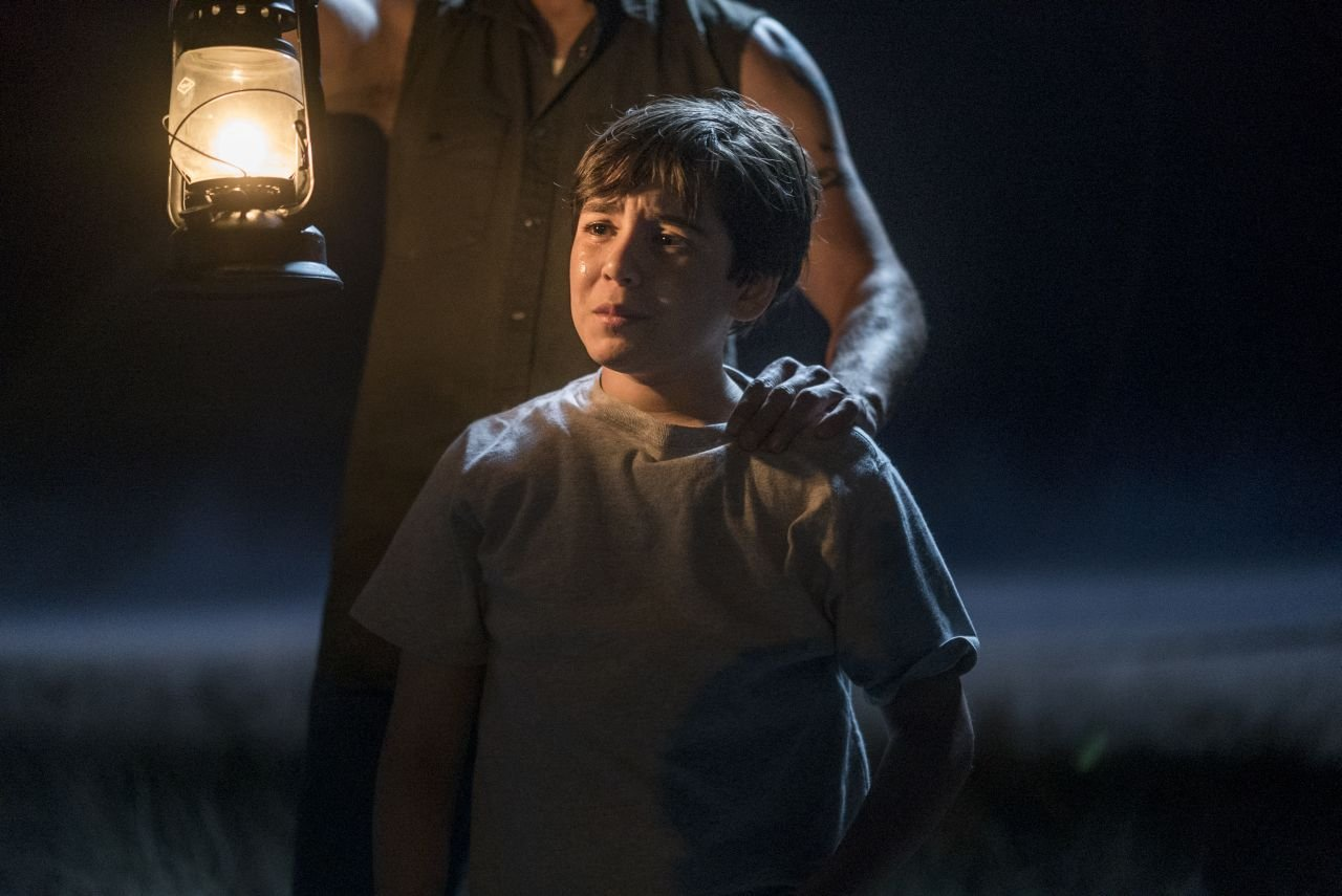 Dominic Ruggieri as Young Jesse, John Custer Attacker- Preacher _ Season 1, Episode 6 - Photo Credit: Lewis Jacobs/Sony Pictures Television/AMC