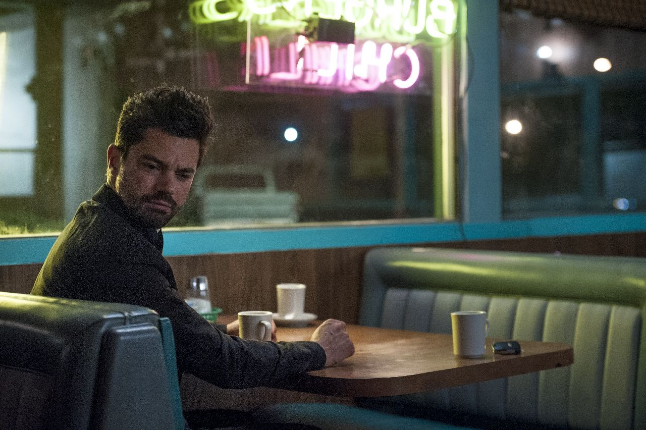 Dominic Cooper as Jesse Custer- Preacher _ Season 1, Episode 5 - Photo Credit: Lewis Jacobs/Sony Pictures Television/AMC