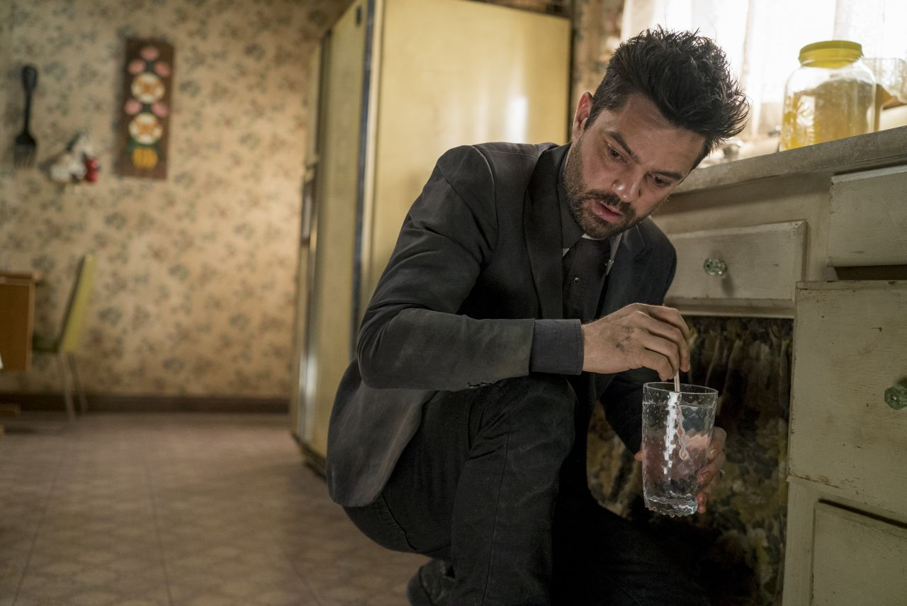 Dominic Cooper as Jesse Custer- Preacher _ Season 1, Episode 7 - Photo Credit: Lewis Jacobs/Sony Pictures Television/AMC