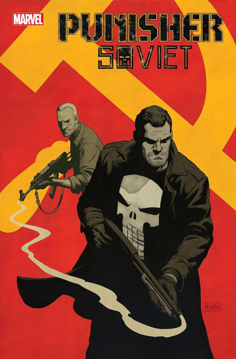 Punisher: Soviet #1 Cover by Paolo Rivera