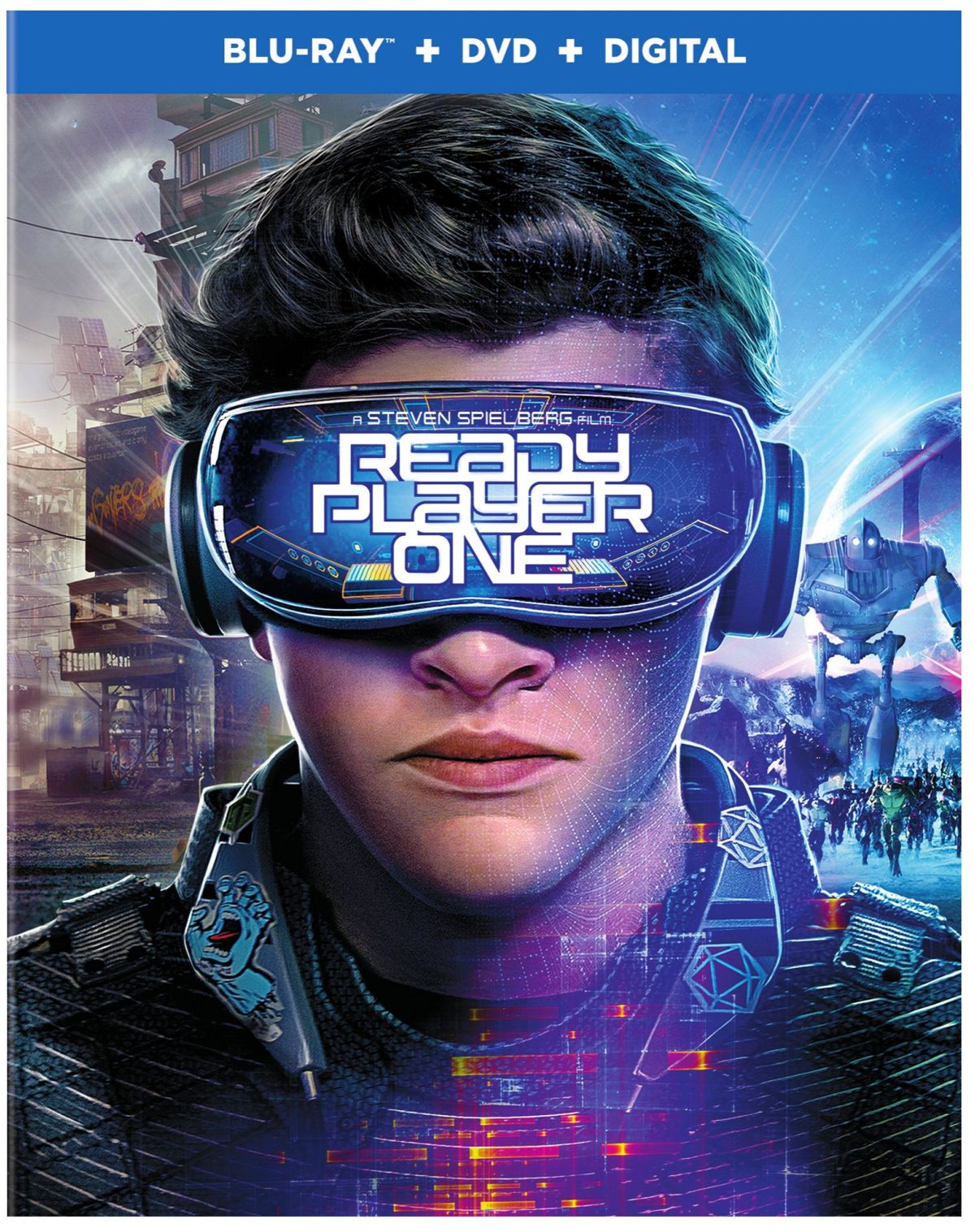 Ready Player One Blu-ray cover