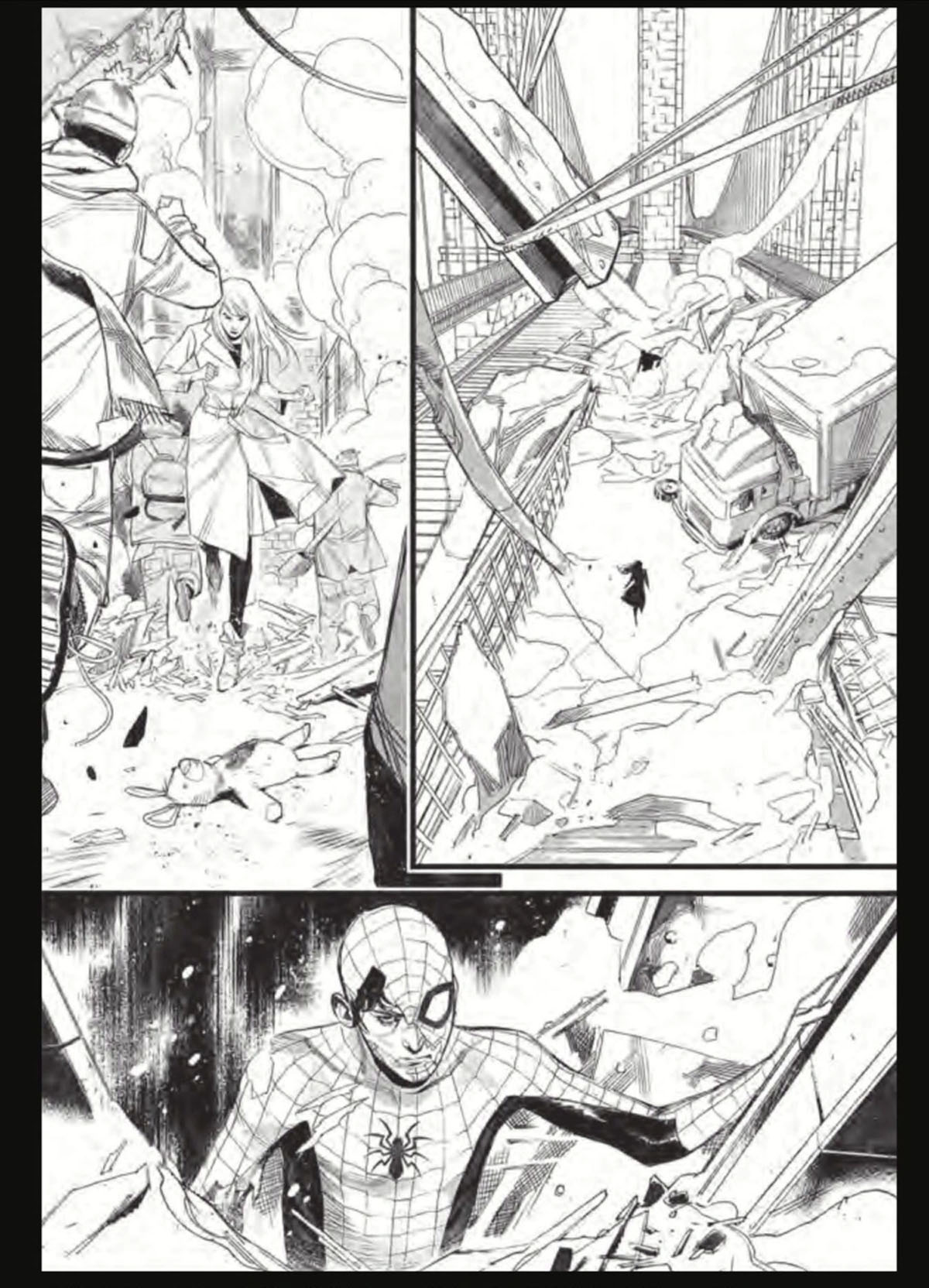 Spider-Man #1 preview page 1