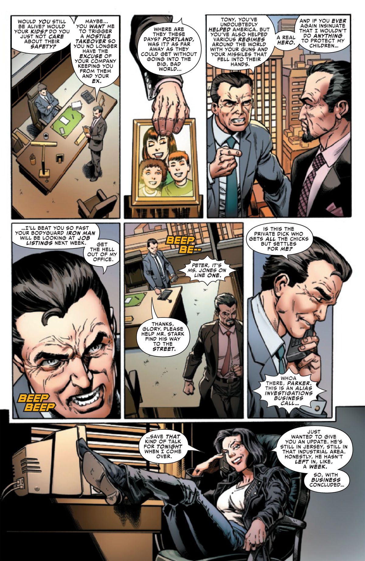 Spider-Man: Life Story #4 page 4