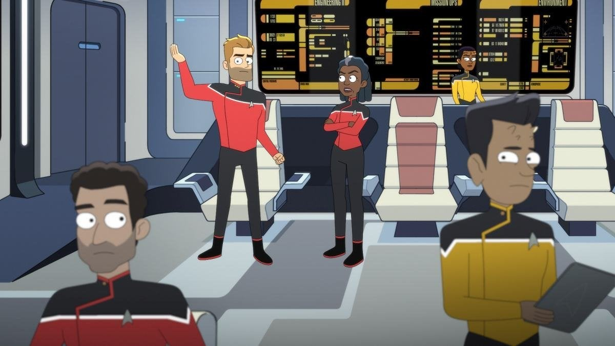 Jerry O'Connell as Commander Ransom and Dawnn Lewis as Captain Carol Freeman