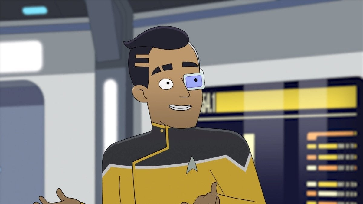 Eugene Cordero as Ensign Rutherford