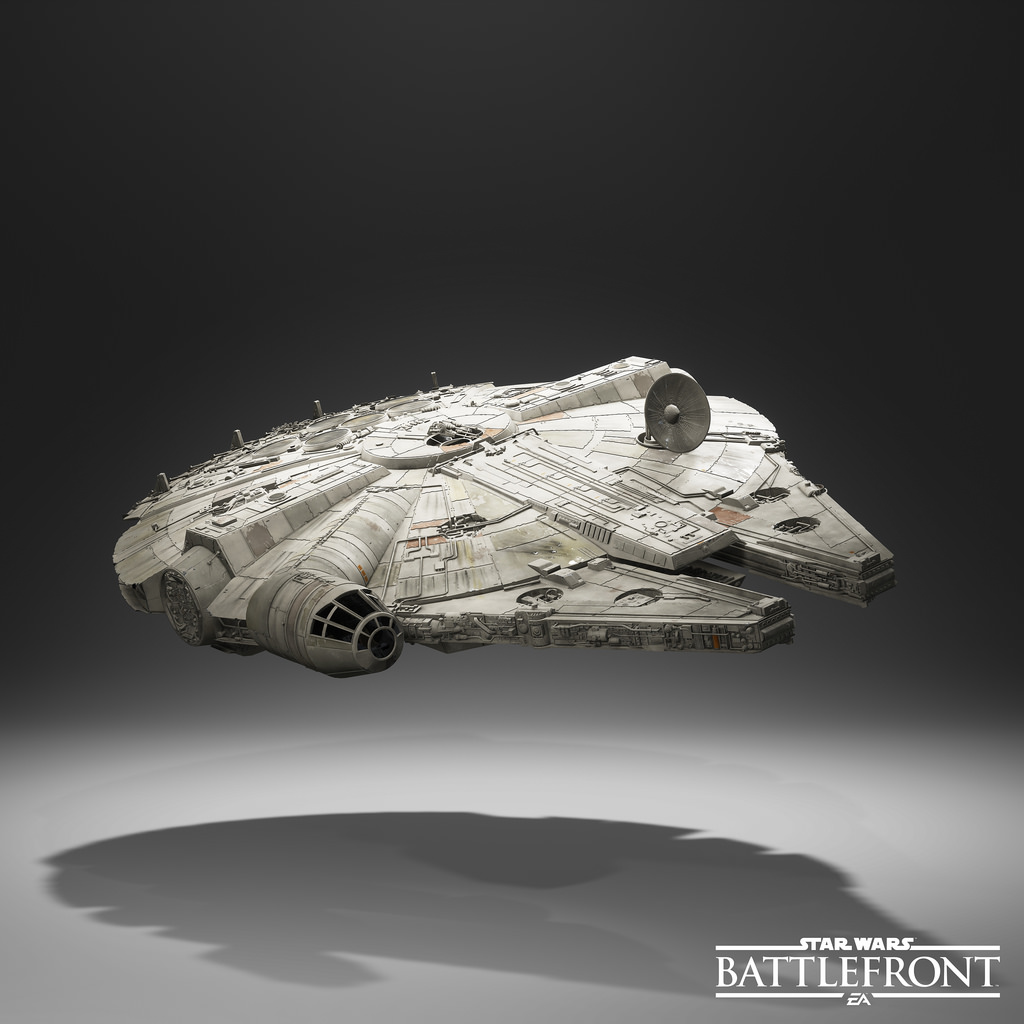Star Wars Battlefront Millennium Falcon