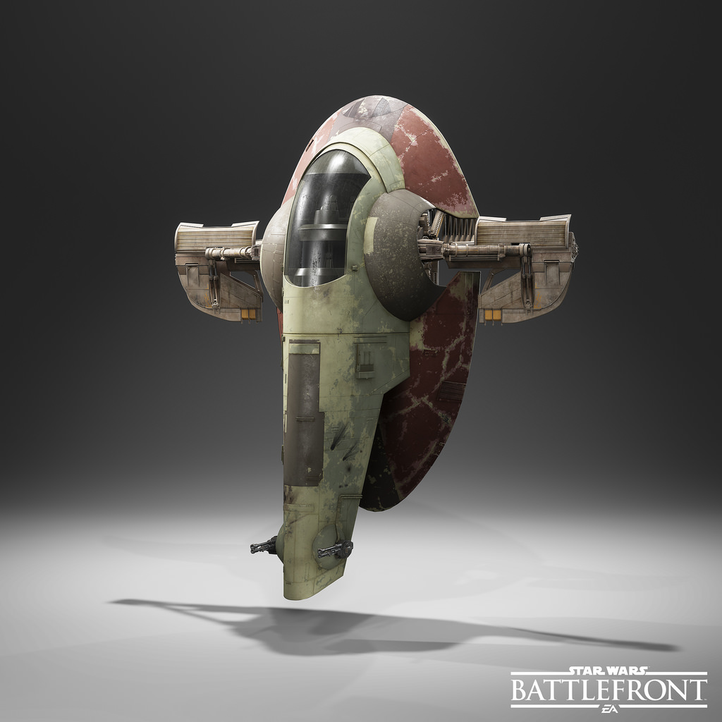 Star Wars Battlefront Slave 1