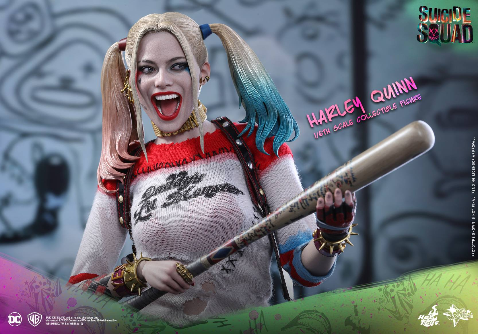 Suicide Squad Hot Toys - Harley Quinn