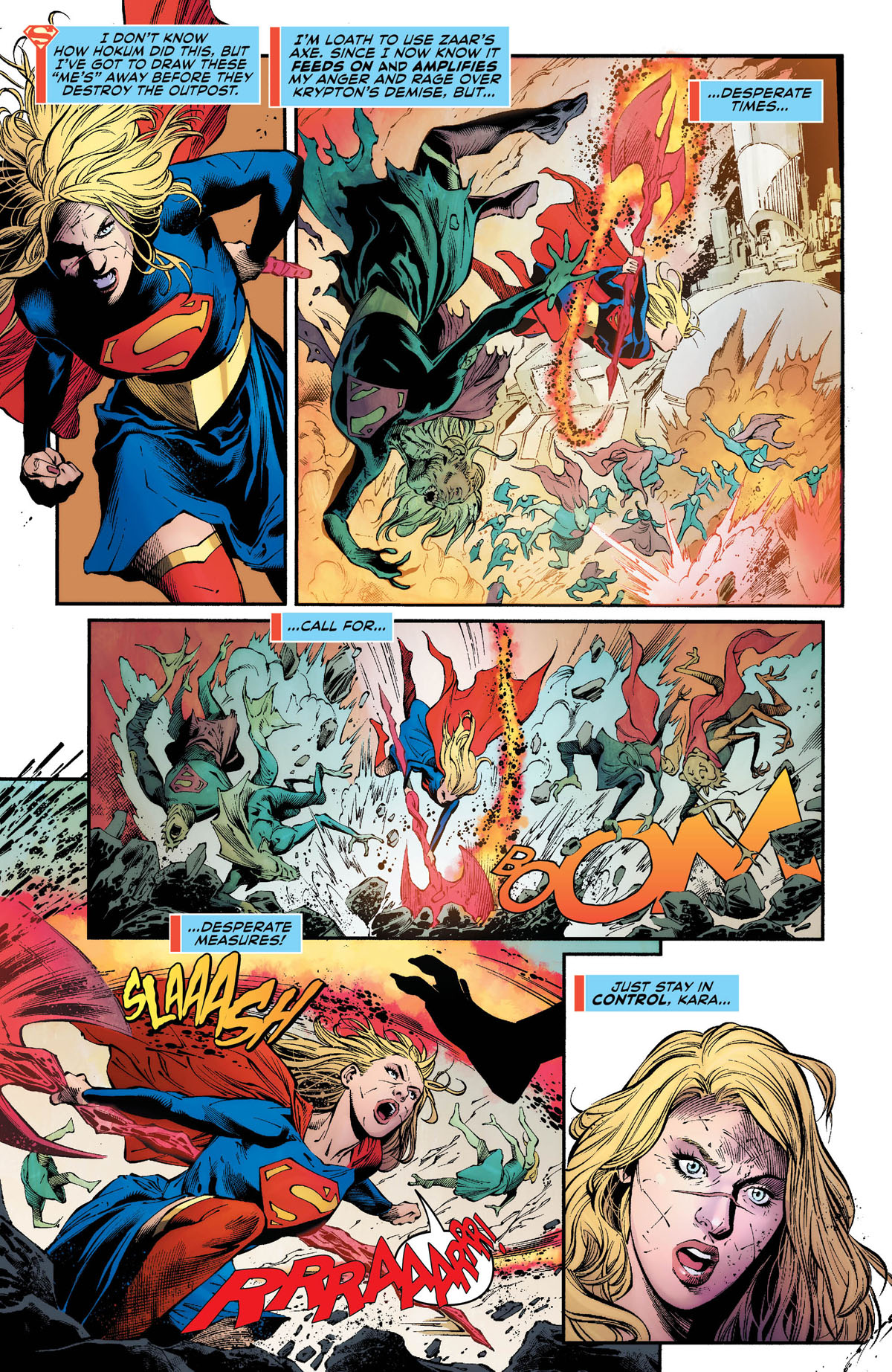 Supergirl #28 page 5