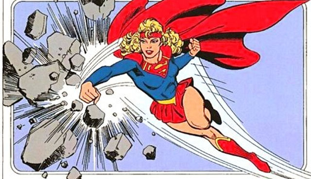 The '80s Supergirl