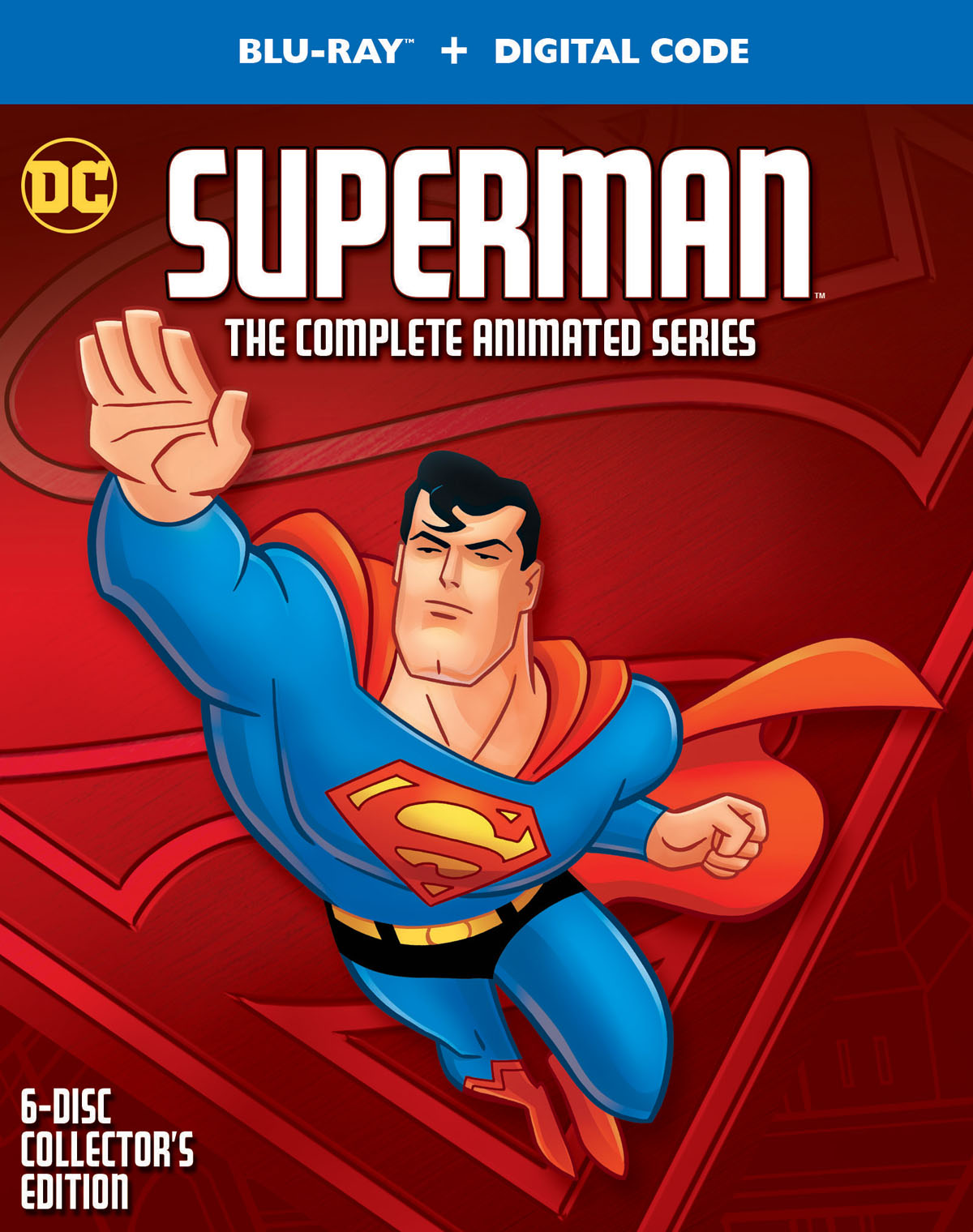Superman: The Complete Animated Series Box Art and Extras