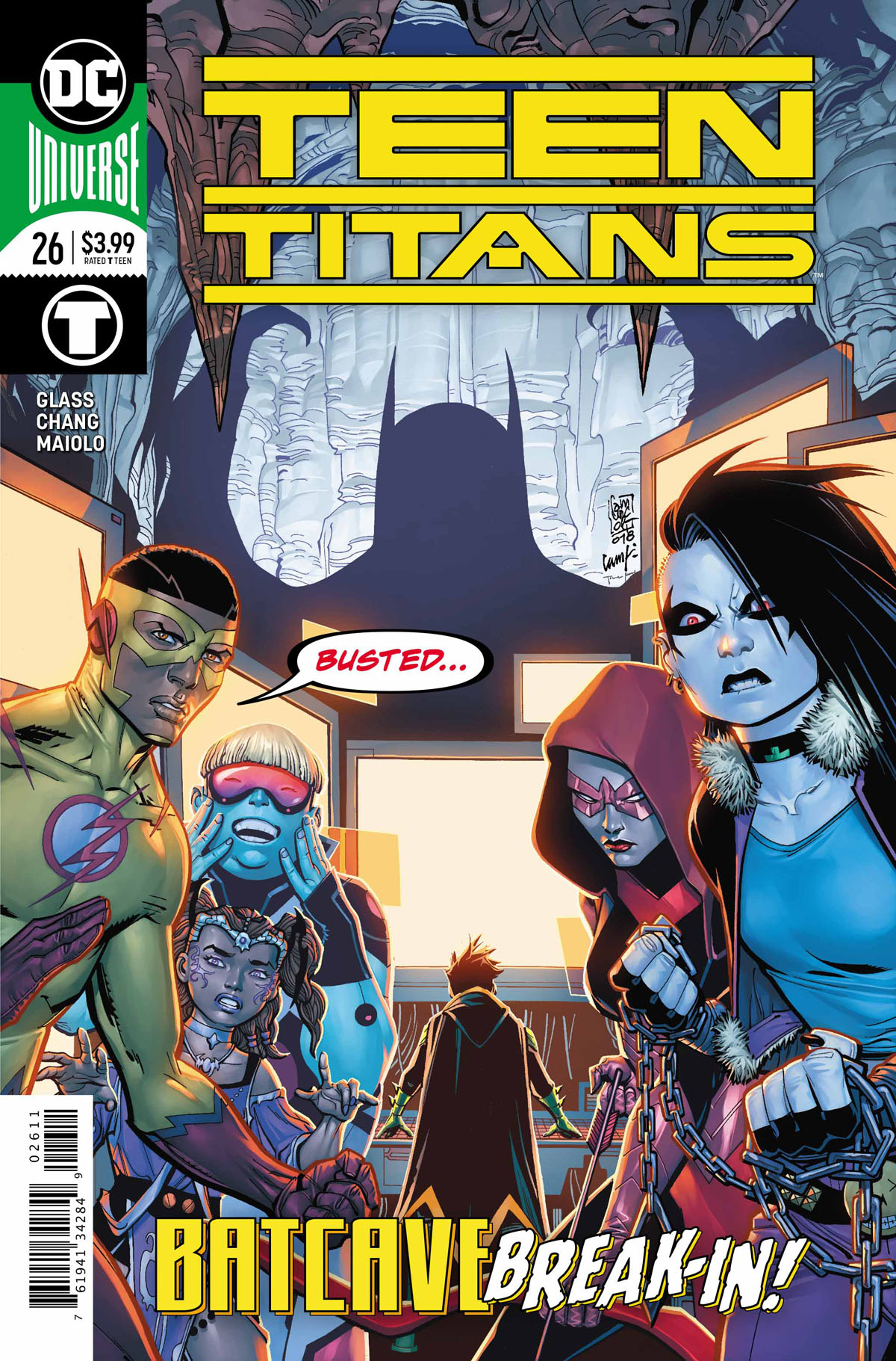 Teen Titans #26 cover