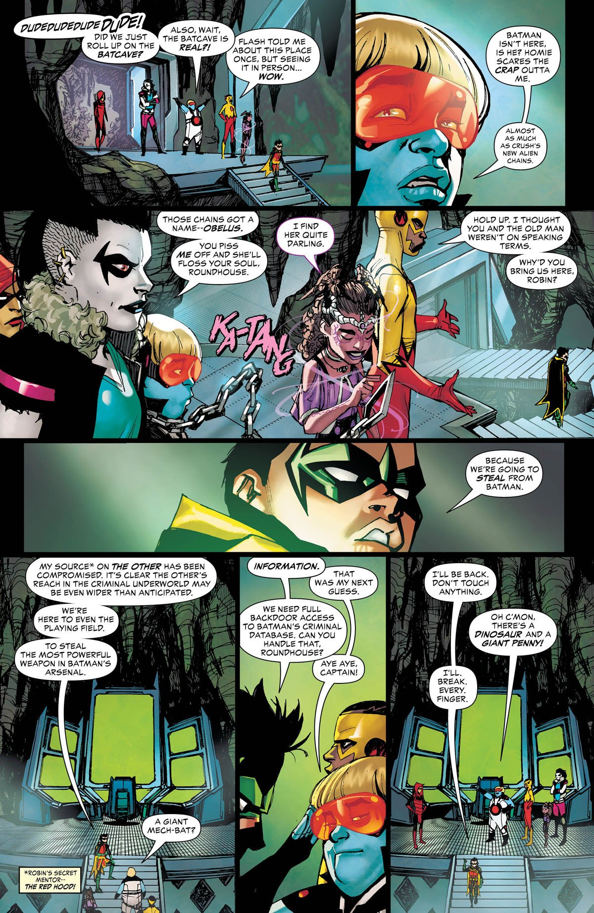 Teen Titans #26 page 4