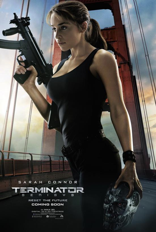 Arnold is back in a new motion poster for terminator genisys