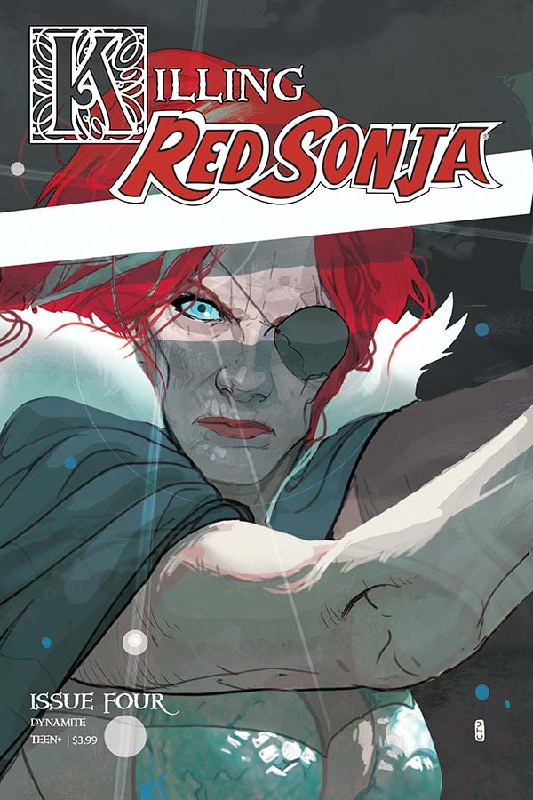 Killing Red Sonja #4 Cover by Christian Ward