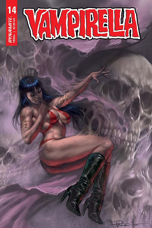 Vampirella Vol. 5 #14 Cover by Lucio Parrillo