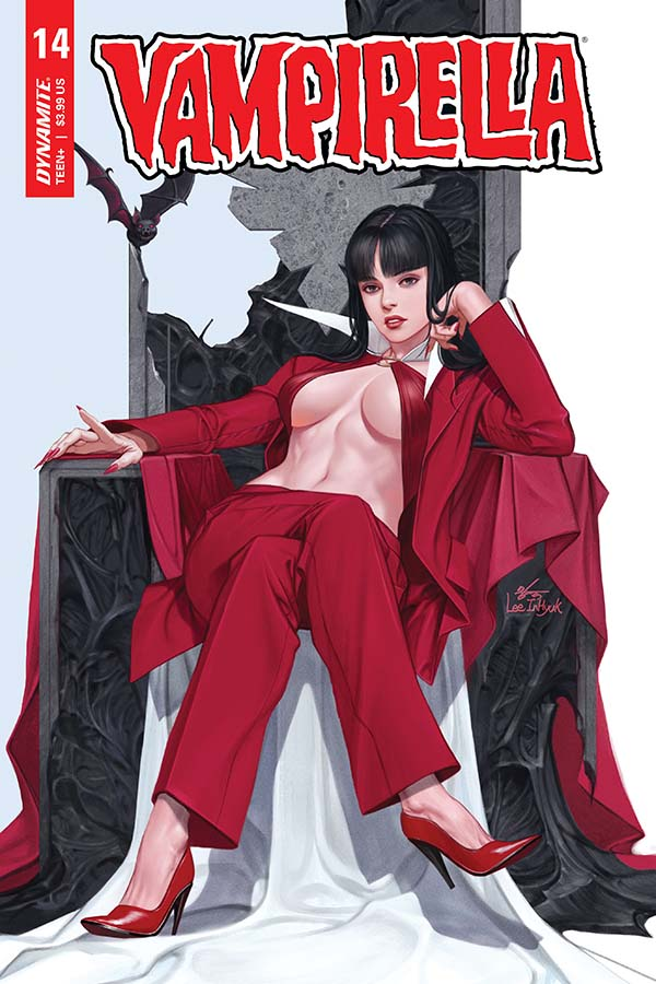 Vampirella Vol. 5 #14 Cover by InHyuk Lee