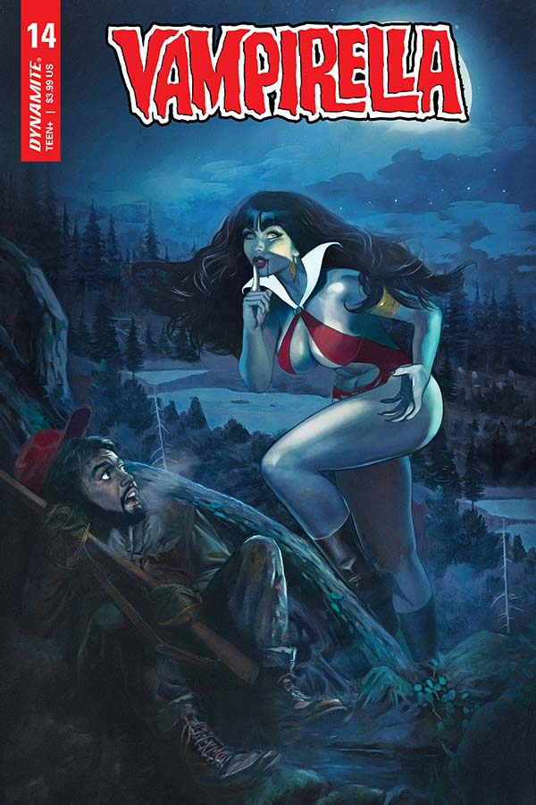 Vampirella Vol. 5 #14 Cover by Fay Dalton