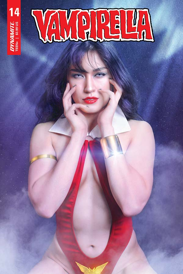 Vampirella Vol. 5 #14 Krista Lee Cosplay Variant Cover