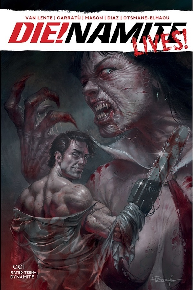 DIE!namite Lives! #1 Cover by Lucio Parrillo