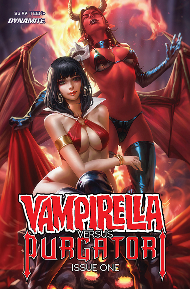 Vampirella vs. Purgatori #1 Cover by Derrick Chew