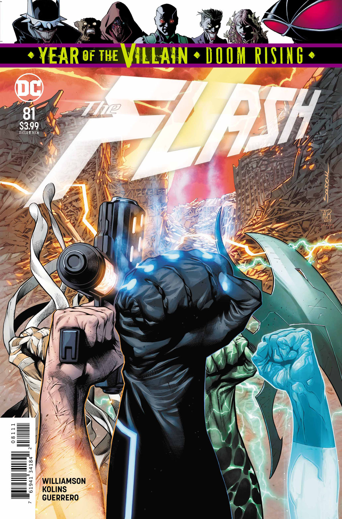 The Flash #81 cover