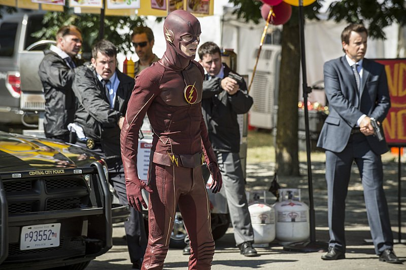 The Flash - The Man Who Saved Central City